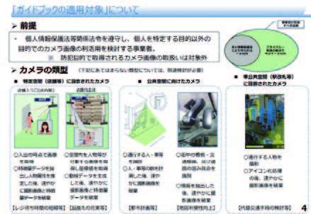 【出典】経済産業省「カメラ画像利活用ガイドブックver1.0」概要